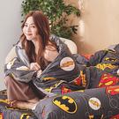 床包被套組 / 雙人加大【DC正義聯盟】含兩件枕套 100%精梳棉 戀家小舖台灣製AAS312