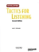 二手書博民逛書店 《Developing Tactics for Listening》 R2Y ISBN:0194388433