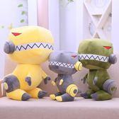 男神恐龍毛絨玩具玩偶卡通布娃娃霸王龍公仔兒童生日禮物睡覺抱枕  莉卡嚴選