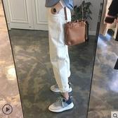 燈芯絨褲子女秋冬2020新款直筒寬鬆哈倫褲休閒條絨煙管蘿卜褲刷毛