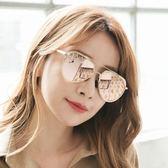 飛行員款粉彩水銀鏡框墨鏡/雷朋太陽眼鏡-ASLLY濾藍光眼鏡-草莓瑪格麗特