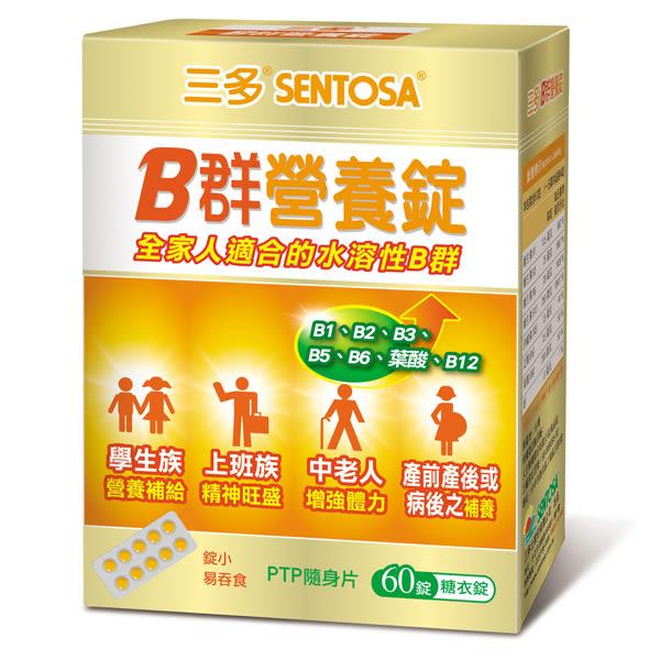 三多 維生素B群營養錠(60錠/盒)x1