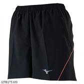 MIZUNO 女裝 短褲 慢跑 路跑 單層 口袋 反光 黑【運動世界】J2TB175309
