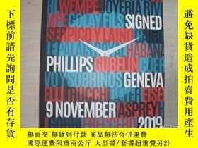二手書博民逛書店PHILLIPS罕見DOUBLE SIGNED Geneva 2019【656】外文原版手表雜誌Y10970