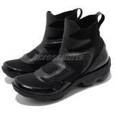 Nike Wmns Vapormax Light II 黑 全黑 大氣墊 合體鞋款 皮革鞋面 高筒 靴子 慢跑鞋 女鞋【PUMP306】 AO4537-001
