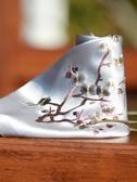 中國風真絲手帕手工刺繡蘇繡女士手絹