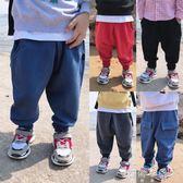 長褲  童裝男童長褲子運動兒童韓版休閒褲百搭哈倫褲 蓓娜衣都