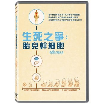 生死之爭 胎兒幹細胞 DVD The God Cells A Fetel Stem Cell Journey 免運 (購潮8)