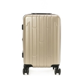 HOLA 龐森可擴充行李箱 20吋 香檳金