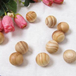 四季必備 天然香樟木球 檀木香木珠 驅蟲防蛀 清新空氣 10粒裝