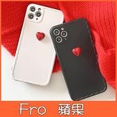 蘋果 iphone xs max xr ix i8 plus i7+ XS SE 黑白紅心 手機殼 全包邊 保護殼