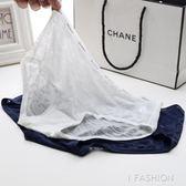 內褲女士冰絲面料透明誘惑低腰純棉質內襠大碼蕾絲中腰三角褲-Ifashion