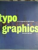 【書寶二手書T6/大學藝術傳播_YBR】TYPOGRAPHICS 1 CYPERTYPE_編輯部