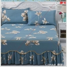 防滑床裙單件花邊床罩純棉席夢思保護套韓式1.8米1.5米床單床笠 樂活生活館