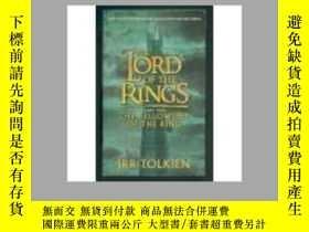 二手書博民逛書店The罕見Lord of the Rings Part one:the fellowship of the Rin