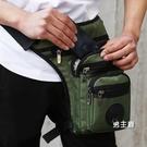 腿包多功能運動戶外休閒摩托騎行釣魚腰包男女戰術包防水腿包軍迷裝備 快速出貨