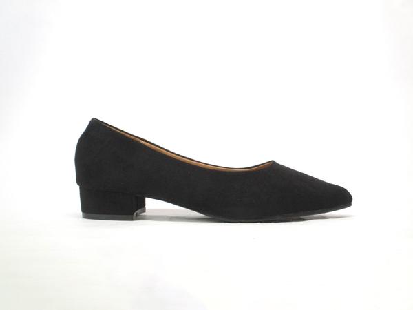 ★666-95❤ 愛麗絲的最愛☆❤搶眼款~時尚百搭氣質美女必備尖頭低跟包鞋/尖頭鞋