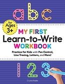 2021 美國暢銷書排行榜 My First Learn to Write Workbook: Practice for Kids with Pen Control, Line Tracing