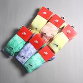 NIKE 長襪 襪子 EVERYDAY PLUS 藍綠/紅黃 渲染 水洗 紮染 兩雙一組 (布魯克林) DM3407-