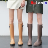【伊人閣】防水雨鞋 時尚雨鞋 雨靴 防水 高筒水靴 防滑膠鞋 水鞋