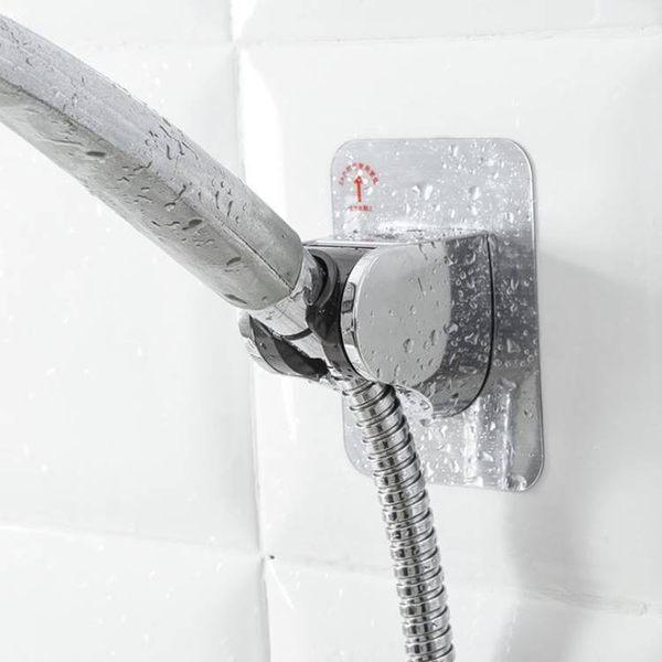現貨-免打孔無痕貼手持花灑支架 可調蓮蓬頭固定座 淋浴噴頭底座【C053】『蕾漫家』
