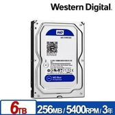 【綠蔭-免運】WD60EZAZ 藍標 6TB 3.5吋SATA硬碟