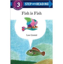 【麥克書店】STP INTO READING FISH IS FISH (魚就是魚) /L3