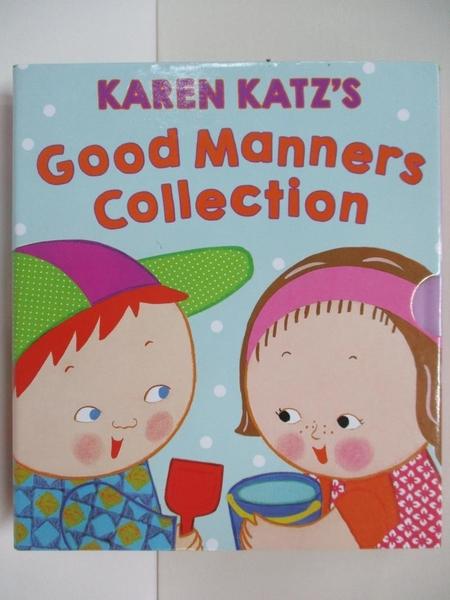【書寶二手書T4/少年童書_DQP】Karen Katz s Good Manners Collection_4本合售