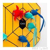 飛鏢游戲飛鏢盤飛鏢靶1個圓靶9個球兒童益智玩具 「潔思米」 IGO