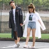 雨衣 雨衣長款全身時尚加厚透明雨披電動車防雨衣單人男女戶外徒步雨衣