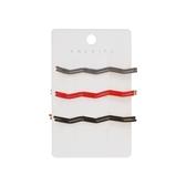 Dadaisun KALAIFU網紅波浪線夾(6入) 顏色隨機出貨【小三美日】髮飾