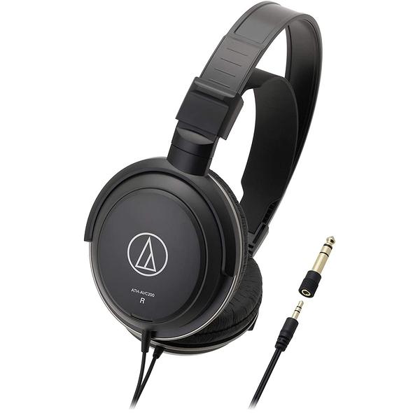 鐵三角 耳罩式耳機 ATH-AVC200 密閉式動圈型耳機 Audio-Technical