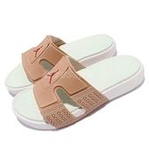 Nike 涼拖鞋 Jordan Hydro 8 咖啡 奶茶 綠 男鞋 運動拖鞋 喬丹 【ACS】 CD2803-200