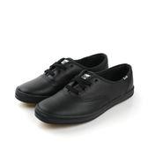 Keds CHAMPION BLACK LEATHER 皮革 舒適 休閒鞋 經典款 黑色 女鞋 9171W110016 no008