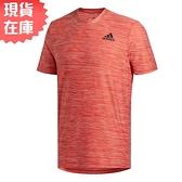 【現貨】ADIDAS ALL SET 男裝 短袖 慢跑 訓練 排汗 透氣 雪花 紅【運動世界】FL1553