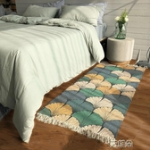 地毯臥室滿鋪墊子地墊長方形可機洗棉編織家用北歐榻榻米       艾維朵