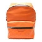 LOUIS VUITTON LV 路易威登 橘色牛皮後背包 Discovery Backpack M30410【BRAND OFF】