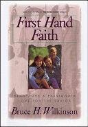 二手書博民逛書店《First Hand Faith: Recapture a Passionate Love for the Savior》 R2Y ISBN:1885305370