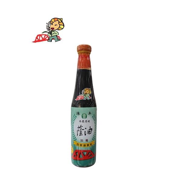 【西螺鎮農會】西農清健陳年蔭油膏(420ml/瓶)
