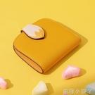 歐時納錢包女2020新款時尚韓版可愛零錢包簡約短款摺疊卡通小錢夾 蘿莉小腳丫