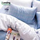 加大雙人床包枕套兩件組【不含被套】【 DR2006 史普奇】 40s天絲™萊賽爾 台灣製 OLIVIA