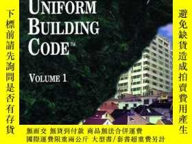 二手書博民逛書店Uniform罕見Building Code 1997Y255562 Not Available (na) T