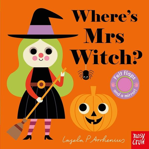 Where's Mrs Witch? 女巫在那裡?不織布翻翻書