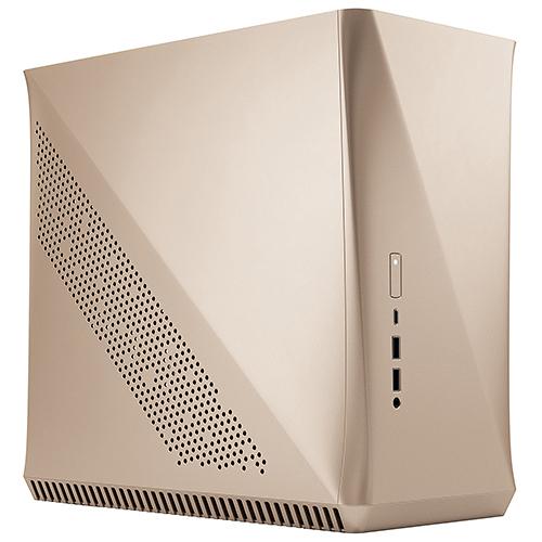 Fractal Design Era 金色 ITX 電腦機殼 FD-CA-ERA-ITX-CHP