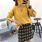 FINDSENSE G6 韓國時尚 毛衣 針織 上衣