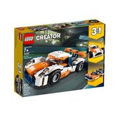 【LEGO 樂高 積木】31089 創意大師 Creator 日落賽車(221pcs)