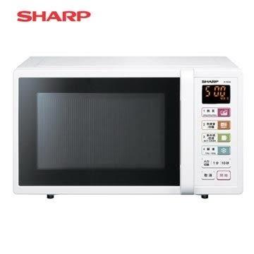 SHARP夏普25L微電腦微波爐R-T25JS(W)