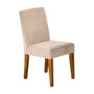 【森可家居】拉莉柚木色餐椅-布 7JF482-10 實木柚木色
