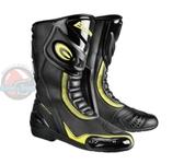 [安信騎士] EXUSTAR E-SBR2101 ESBR2101 黑黃 長靴 車靴 防摔靴 賽車靴