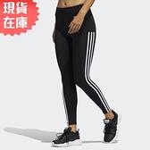 【現貨】ADIDAS AEROREADY 女裝 長褲 九分 緊身 慢跑 健身 吸濕 排汗 黑【運動世界】GD5774